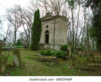 Spring in the old abandoned and ransacked Jewish Cemetery