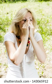 Spring pollen allergy.