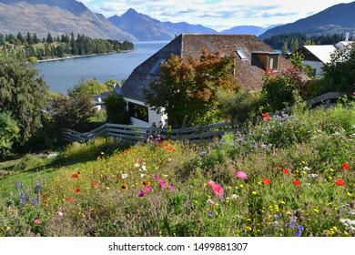 Spring in Queenstown New Zealand - Shutterstock ID 1499881307