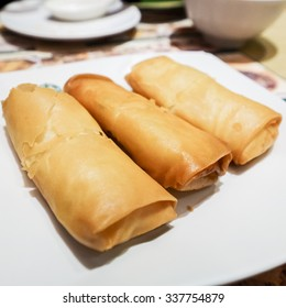 Spring Roll with Egg White