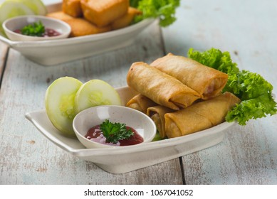 spring rolls, Lumpia asian foods