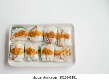 spring rolls,fish spring rolls,Asian and thai food,healthy food