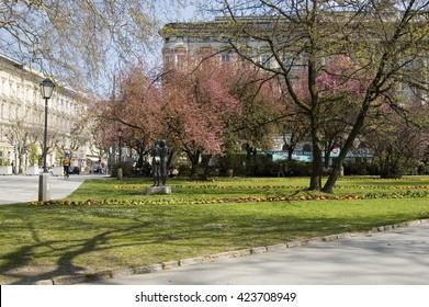Spring in Salzburg, Austria