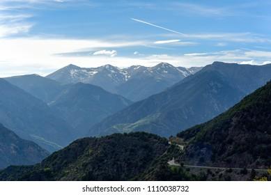Spring in Sant Julia de Loria, Andorra