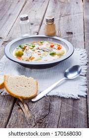 spring soup dish