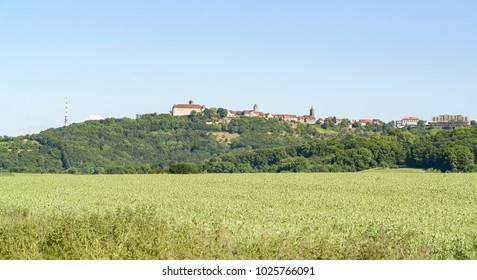 spring time around Waldenburg, a town in Hohenlohe located in Southern Germany