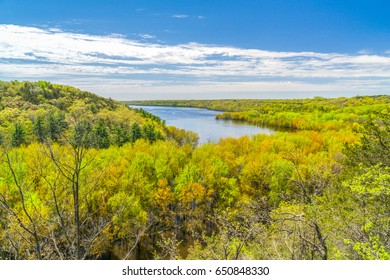 Spring time in the St. Croix River Valley near River Falls, Wisconsin.