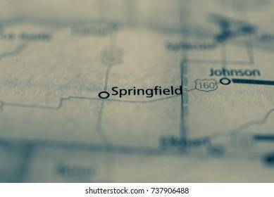 Springfield Colorado Map.Springfield Colorado Stock Photo Edit Now 731687932 Shutterstock
