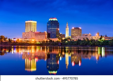 Springfield, Massachusetts, USA Skyline.