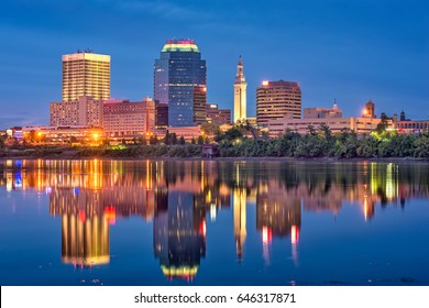 Springfield, Massachusetts, USA Skyline