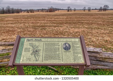 Springfield, Missouri, USA 1-12-19 Wilson's Creek National Battlefield is a Civil War Site located in Southern Missouri