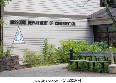 Springfield, MO USA 8/03/19 Missouri Department of Conservation and nature center.