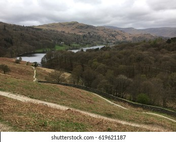 Springtime in the English Lake District: Rydal Water and Grasmere