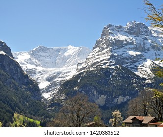 springtime in the swiss alps