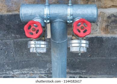 sprinkler system for the fire department