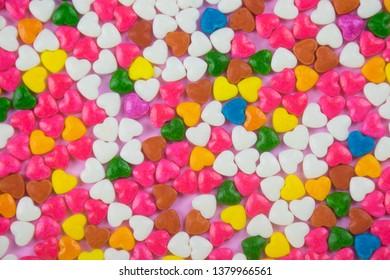 sprinkles background, sugar sprinkle dots, decoration for cake and bakery