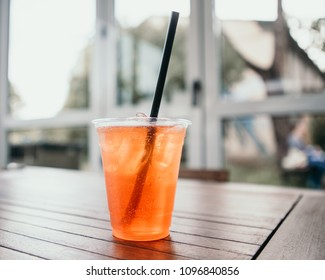 spritz at the sunset