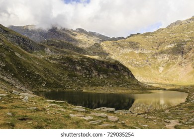 Spronser Lakes in south Tyrol, Italy