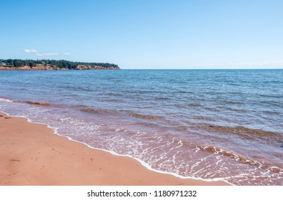 Spry Cove Beach in Prince Edward Island Canada