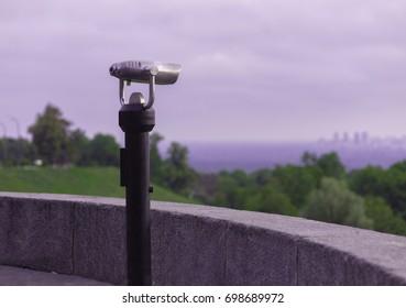 Spy viewing machine