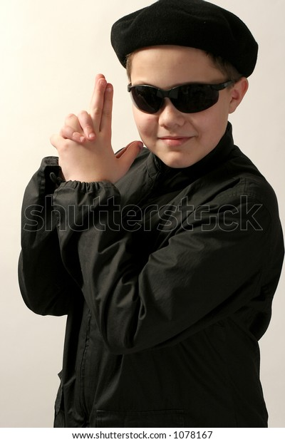 spy-agent young boy