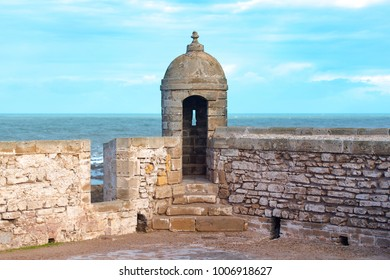 Sqala du Port, fort of Essaouira in Morocco, high resolution picture
