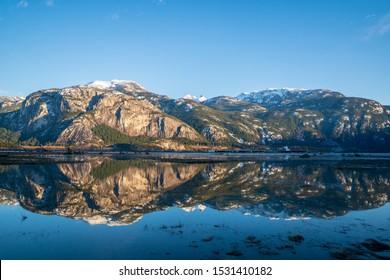 The Squamish Cheif form the estuary
