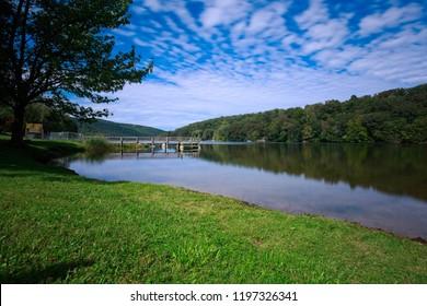 Squantz Pond in Connecticut