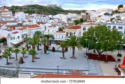 The Square, Albufeira Old Town, Portugal
