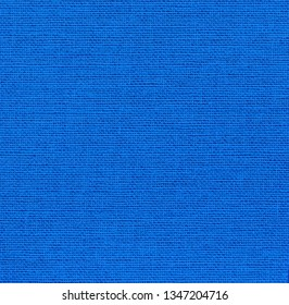 Square background of  blue fabric