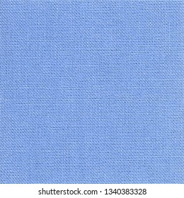 Square background of light blue fabric
