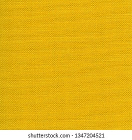 Square background of  yellow fabric