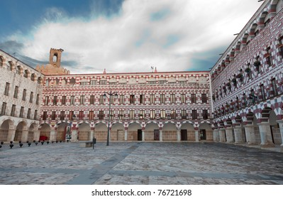 Square of Badajoz, Spain