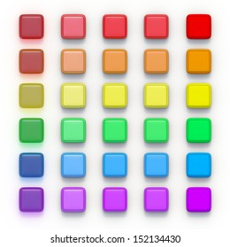 square buttons