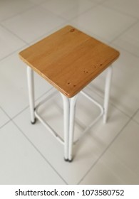 square chair without backrest