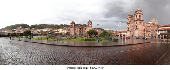 Square in Cusco, Peru