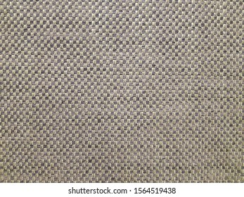 Square fabric background. Patterned canvas