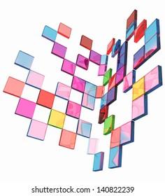 Square frame background - Design Concept