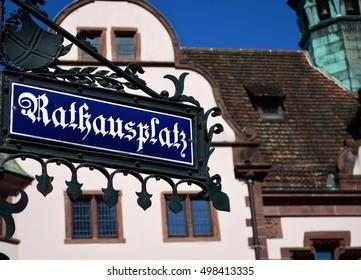 Square in Freiburg