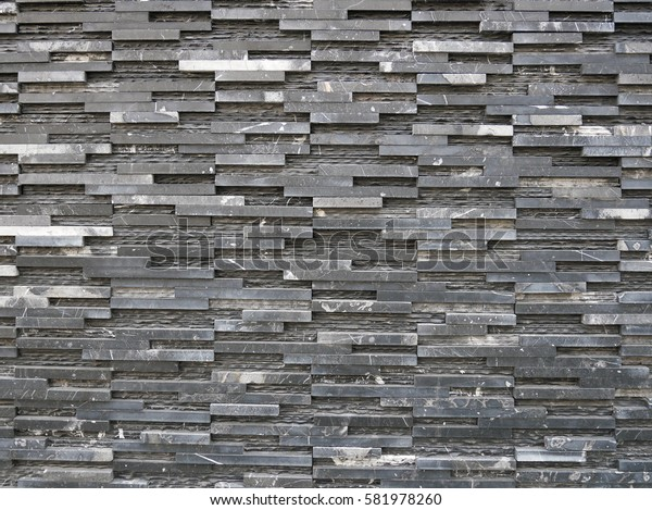Square gradient grey rock texture