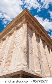 The Square House, Maison Carree, in City of Nimes, France