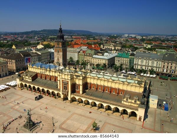 square in krakow