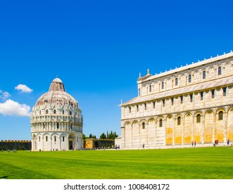 Square of Miracles and the Baptistery of Saint Giovanni in Pisa