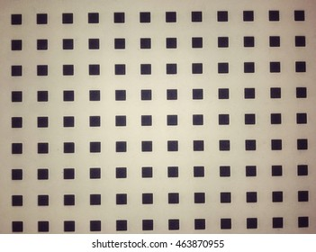 The square pattern of background texture