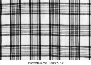 Square pattern fabric background. Scott chintz fabric for design.Plaid cotton texture.