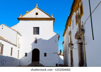 Square or plaza de Capuchinos in Cordoba city, Andalusia region, southern Spain