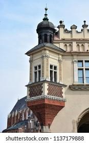 square Rynek Glowny in Cracow,Poland