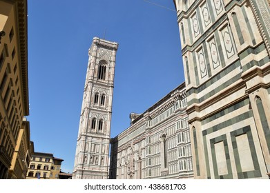 The square of Santa Maria del Fiore in Florence - Tuscany - Italy