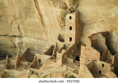 Square Tower Native American cliff dwelling