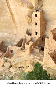 Square Tower native american indian cliff dwelling ruins